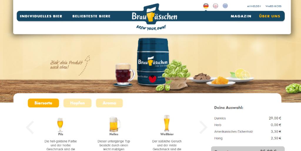 braufaesschen bier konfigurator