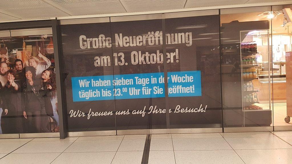 Edeka München Hauptbahnhof Eröffnung 13.10.2016