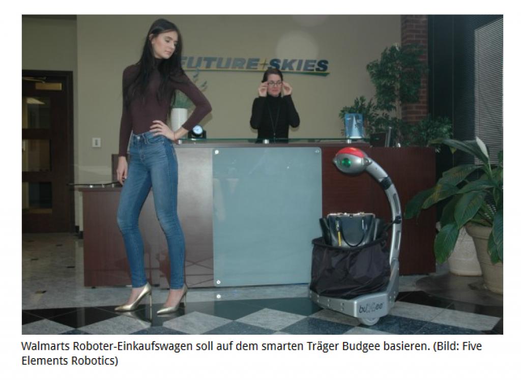 Wallmart einkaufsroboter