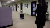 Der Einkaufwagen-Roboter im Einsatz bei Wallmart