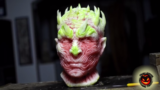 Einen Whitewalker aus einer Melone schnitzen