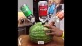 Die Ultra Schnaps-Wassermelone / Cocktail-Wassermelone Rezept